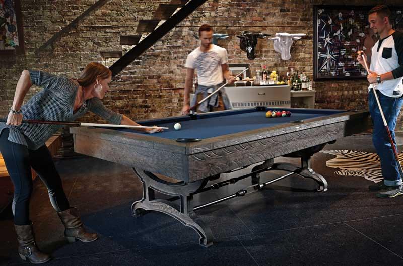 Birmingham Model Pool Table