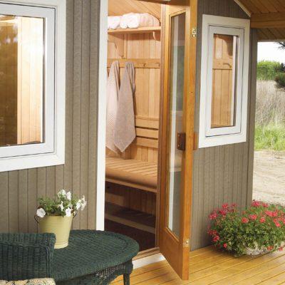 Traditional Outdoor Saunas Metro Series