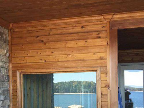 Custom Cut Outdoor Saunas