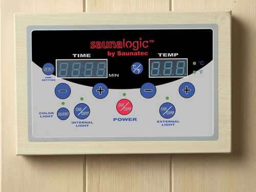 SaunaLogic Digital Controls w/Contactor Box