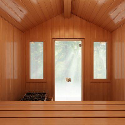 Traditional Outdoor Saunas Patio Series