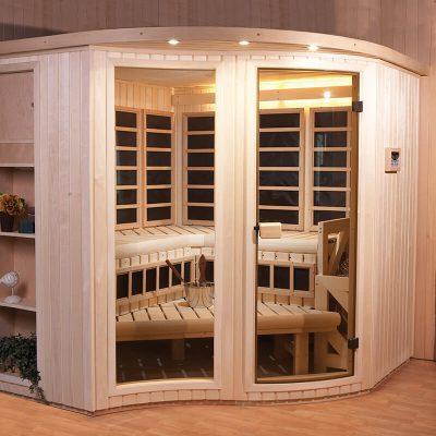 Amberlight Designer Sauna