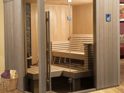 Seaside Designer Sauna